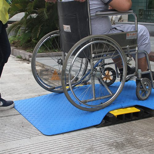 Cable Protector Wheelchair Ramp