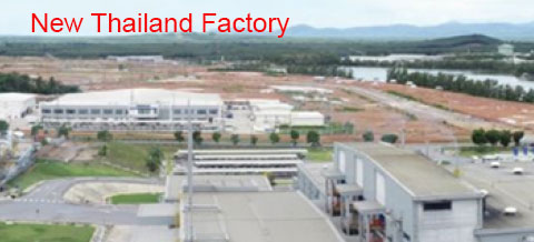 New Thailand Factory