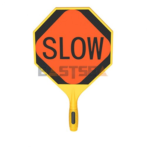 Blow-Molded Stop/Slow Paddle